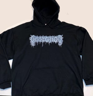 "Image of Dissection  "" Cross ""  Hooded Sweatshirt"