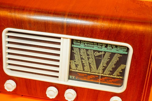 Image of AUDIOLA US551 (1950) RADIO D'EPOCA BLUETOOTH