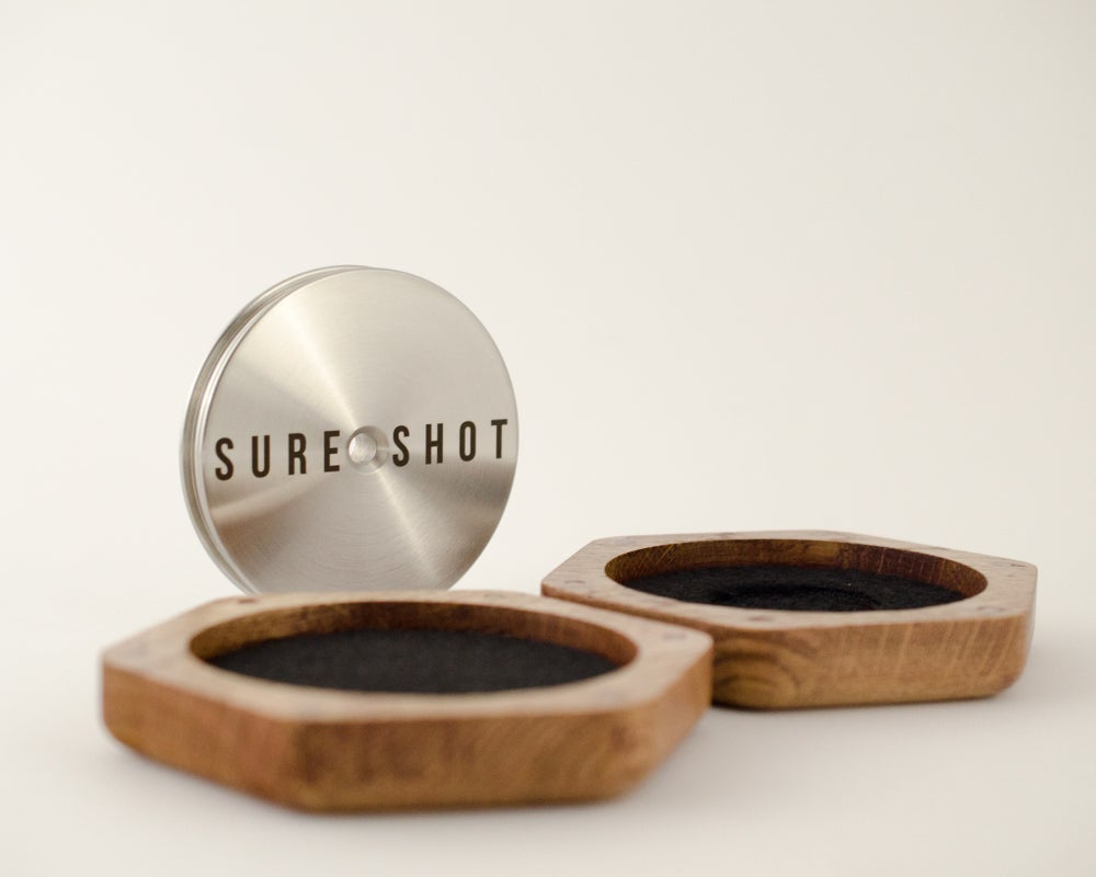 Image of Sure Shot vinyl record clamp - stabilizer