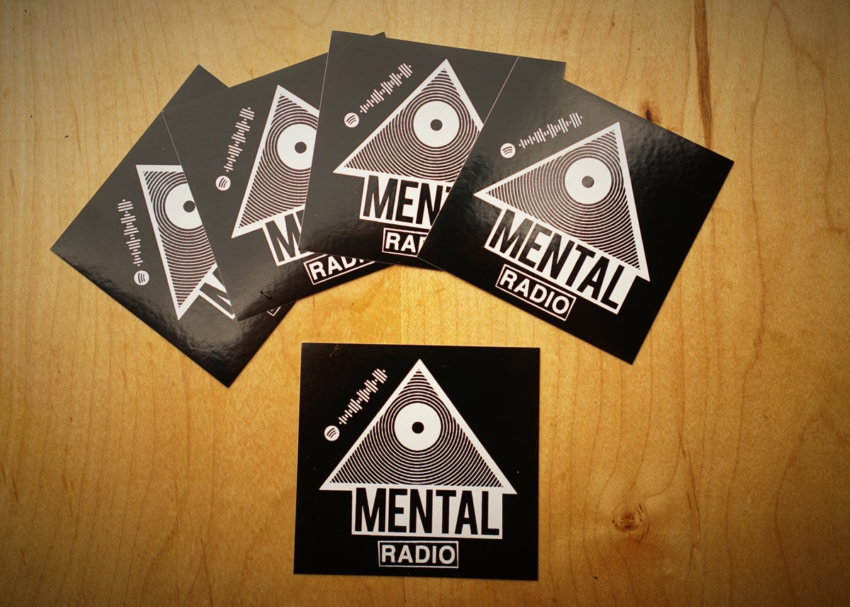 MENTAL RADIO Sticker 5 Pack!