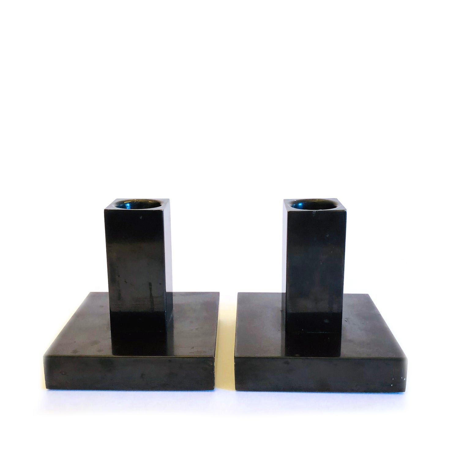 Image of Swid Powell Candlesticks by Calvin Klein