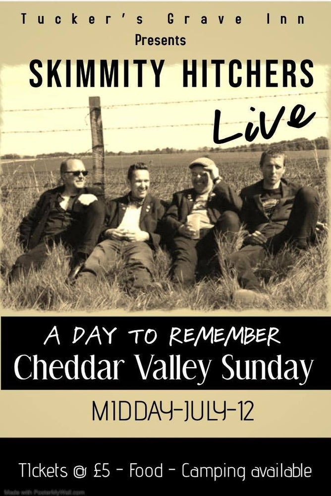 Image of Cheddar Valley Sunday at Tuckers Grave Inn 12-7-20