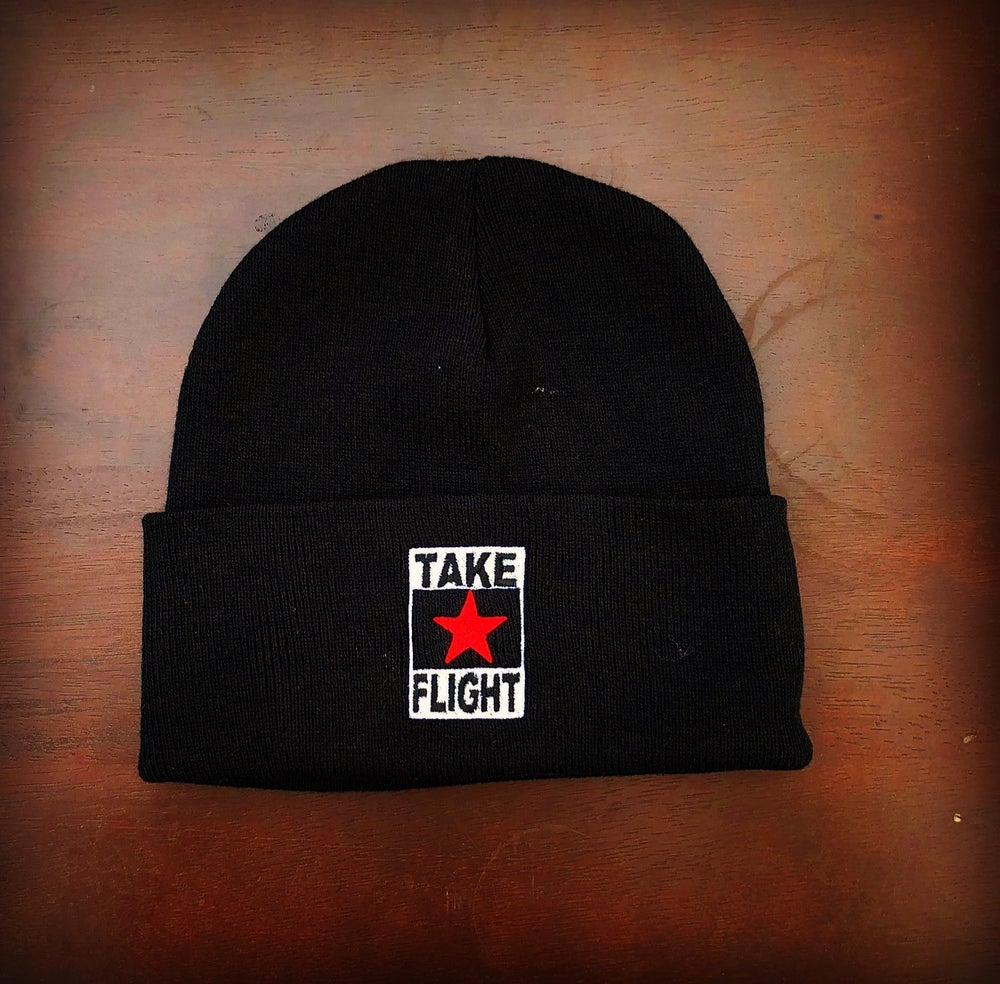 Image of Take Flight beanie (logo)