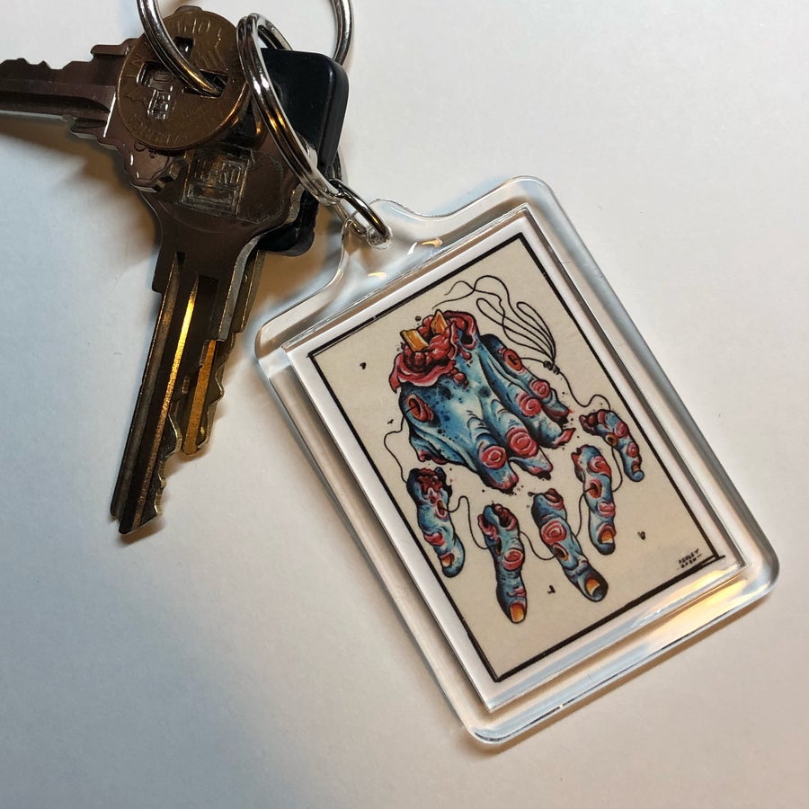 Image of Lucky Paw keychain