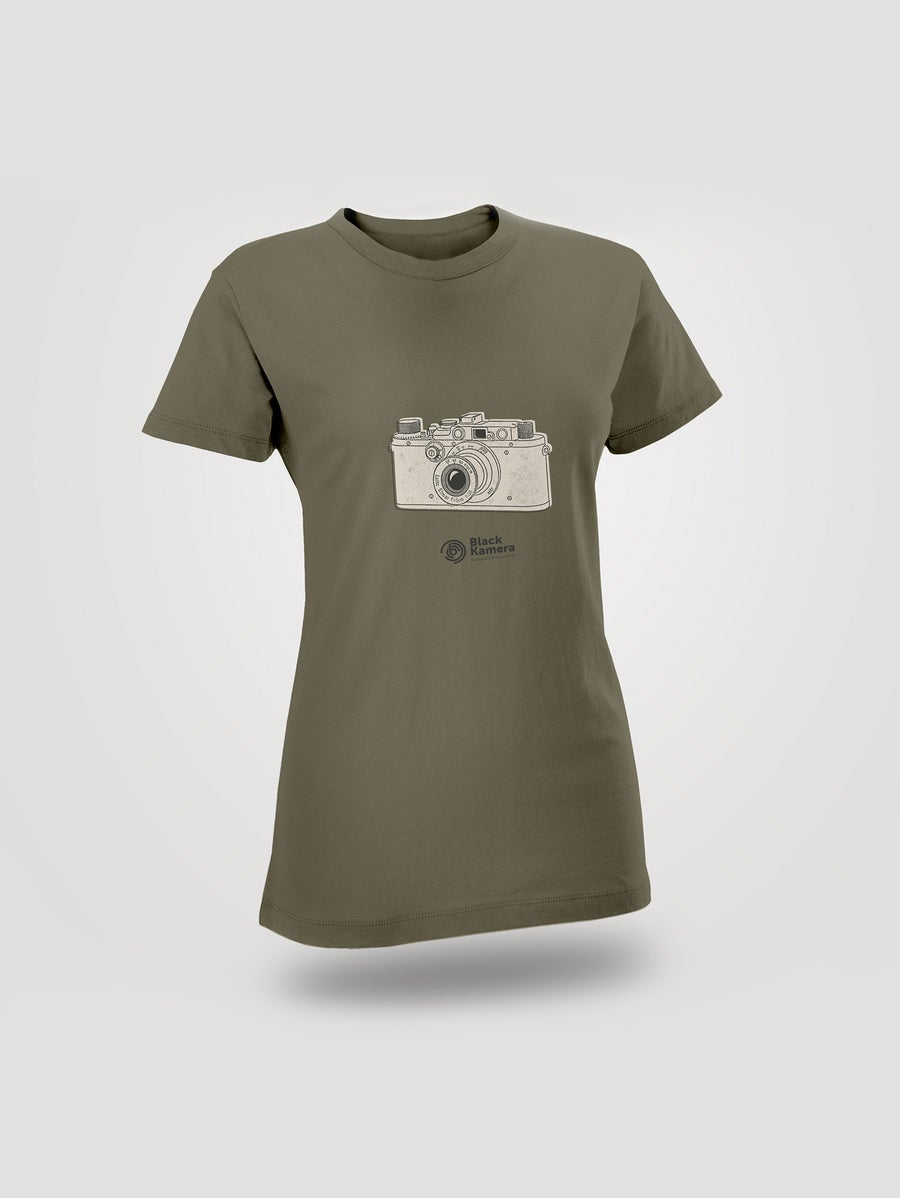Image of T-Shirt Women Blackkamera Leica