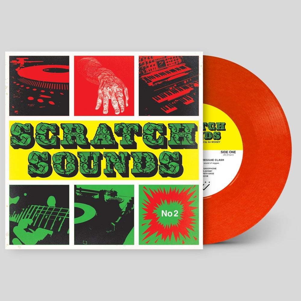 """Image of 7"""" Vinyl - Scratch Sounds No.2 (Red)"""