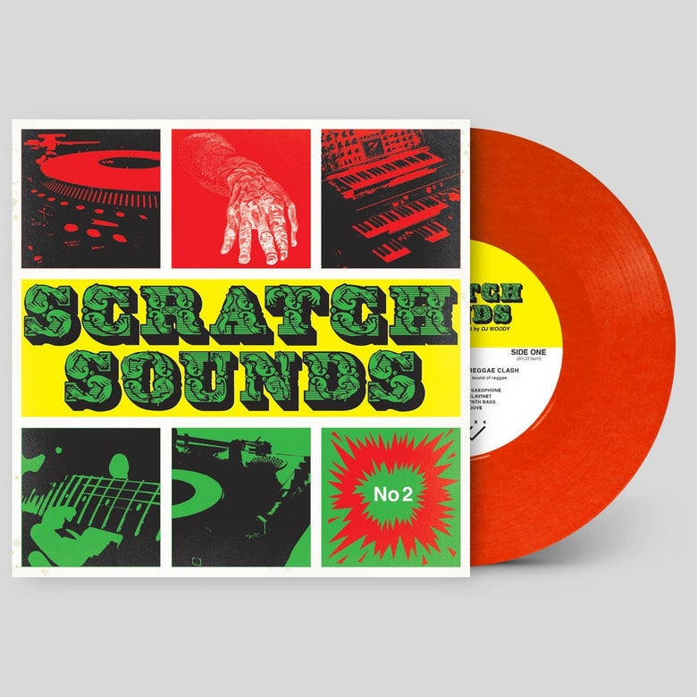 "Image of 7"" Vinyl - Scratch Sounds No.2 (Red)"
