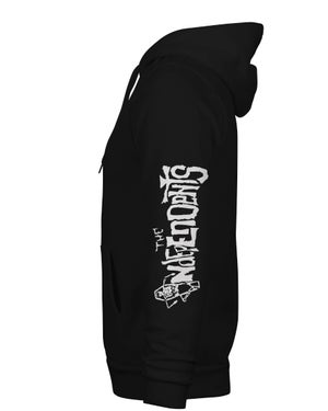 Image of The Independents Horror Ska zip up hoodie