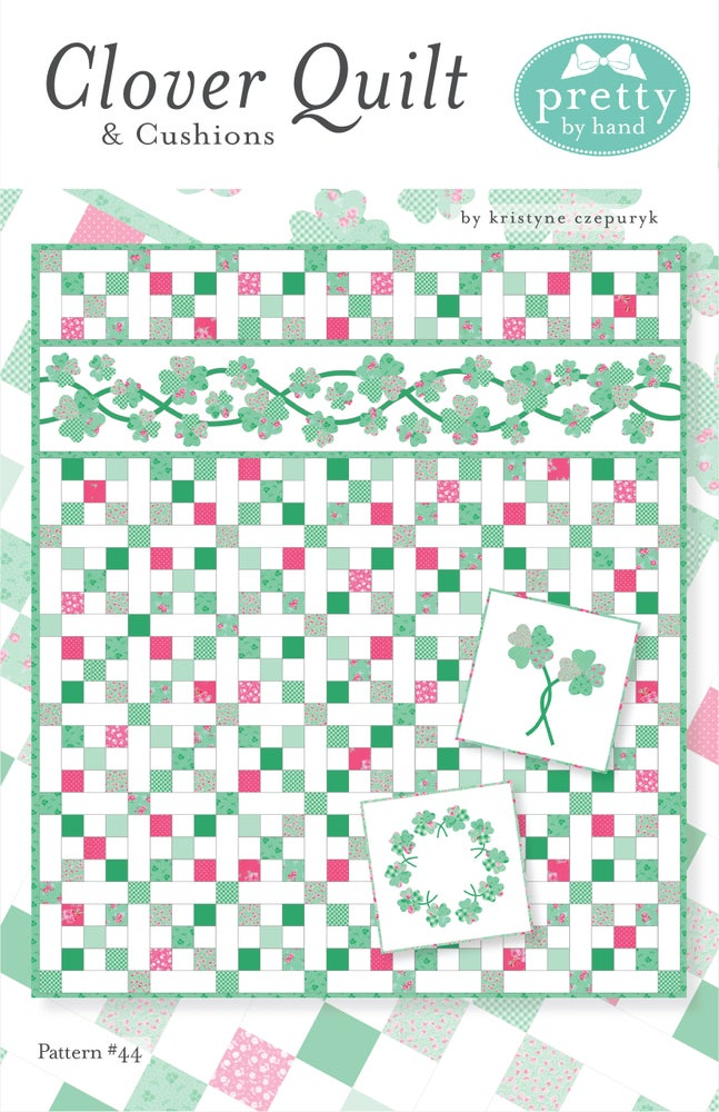 Image of Clover Quilt & Cushions - PDF Only