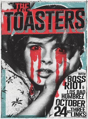 The Toasters 2018 (screen print)