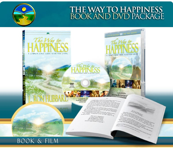 Image of The Way to Happiness Book and Film Package (Paperback)