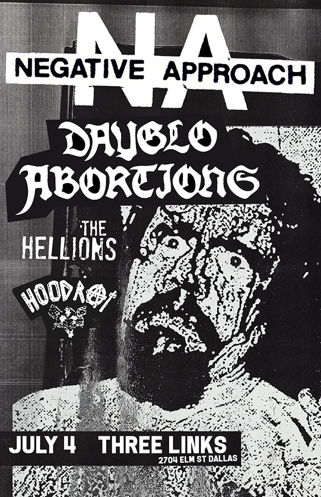 Negative Approach, Dayglo Abortions 2018