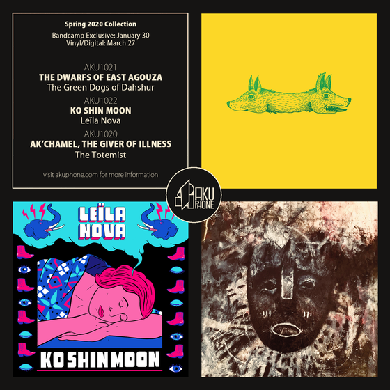 Image of Spring 2020 Collection bundle (3 LPs)