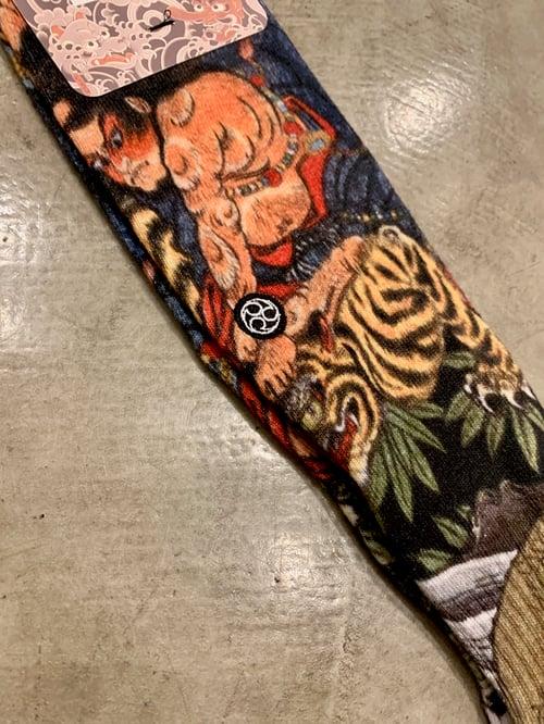 Image of BUSYO TIGER SOCK by Ukiyoemon