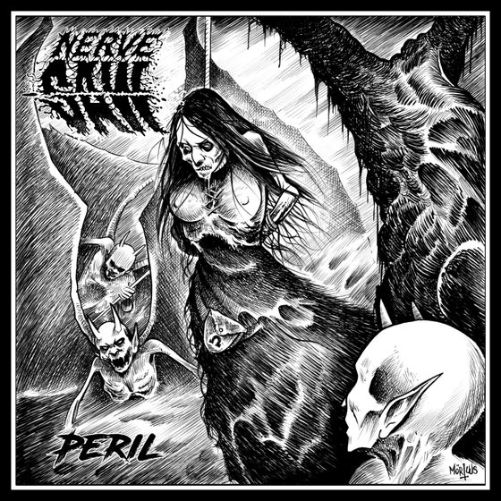 Image of Nerve Saw • Peril (Ltd. Hand-Numbered CD Digipak)