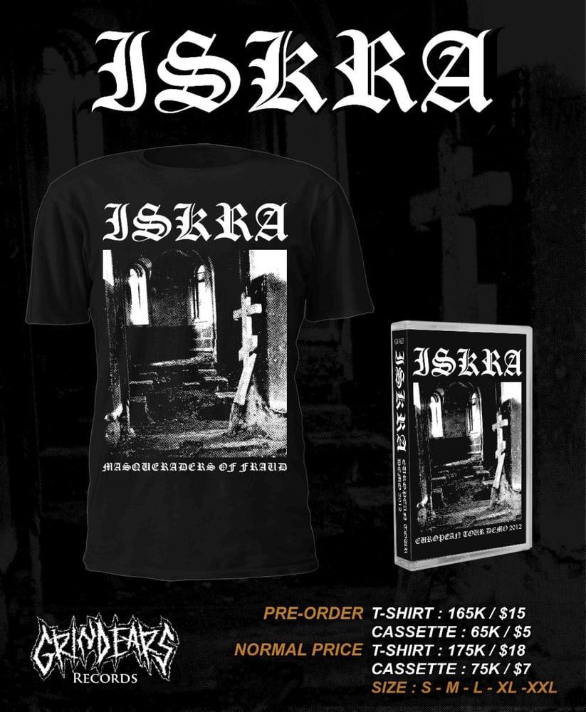 Image of Iskra european demo tour 2012 cassettes