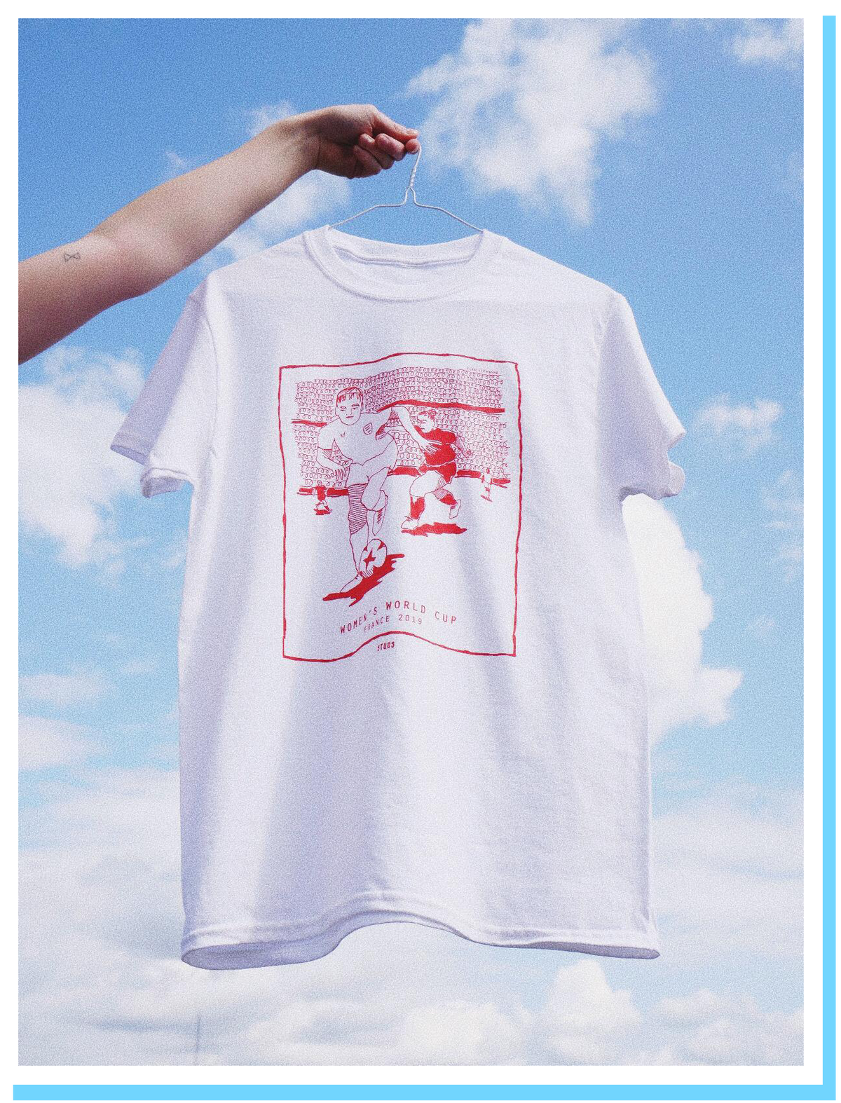 Image of Women's World Cup France 2019 Tee