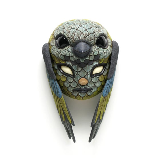 Image of Blend In Mini Mask (Green Headed Tanager)