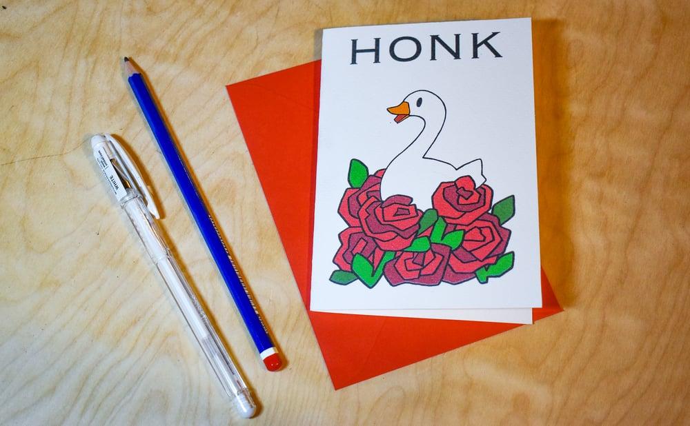 Image of HONK! - Valentines Card