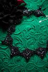 La Nuit - Majestueux collier brodé