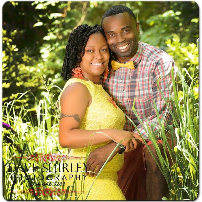 Image of Studio or Garden Session for a Couple