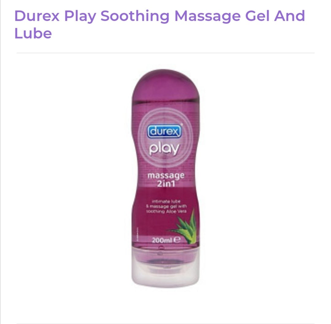 Image of Durex Play Soothing Massage Gel And Lube