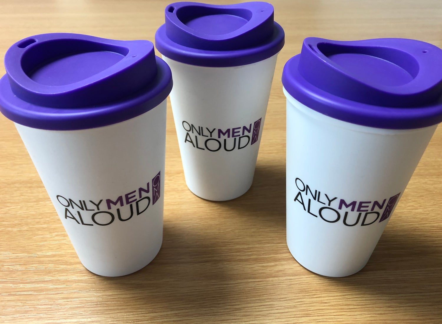 Image of Only Men Aloud Reusable Cups