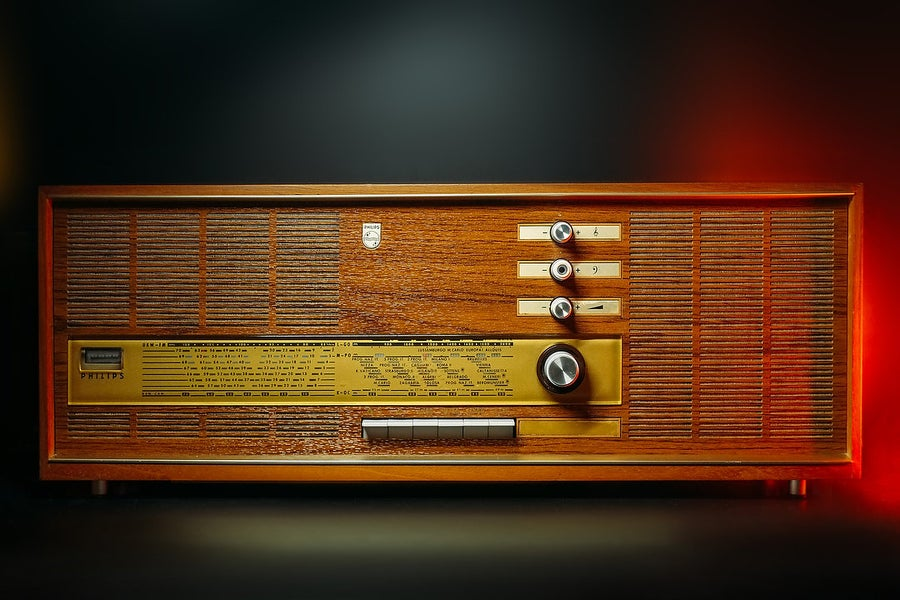 Image of PHILIPS 22RB562 GOLD (1967) RADIO D'EPOCA BLUETOOTH