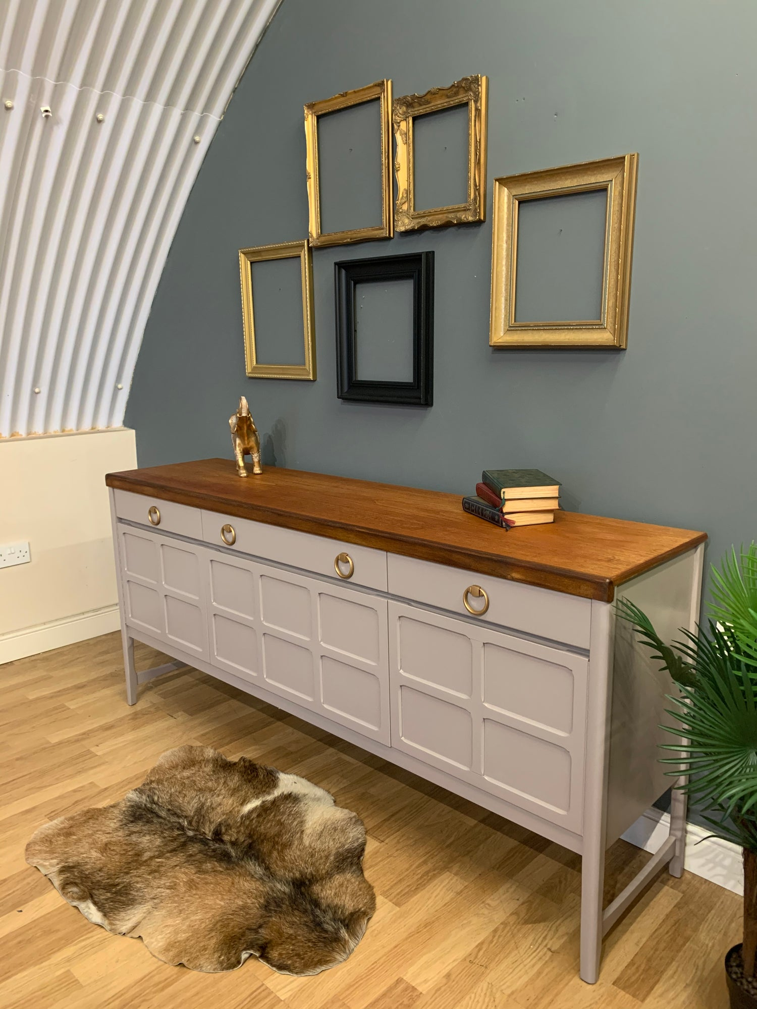 Image of Nathan teak sideboard in neutral.