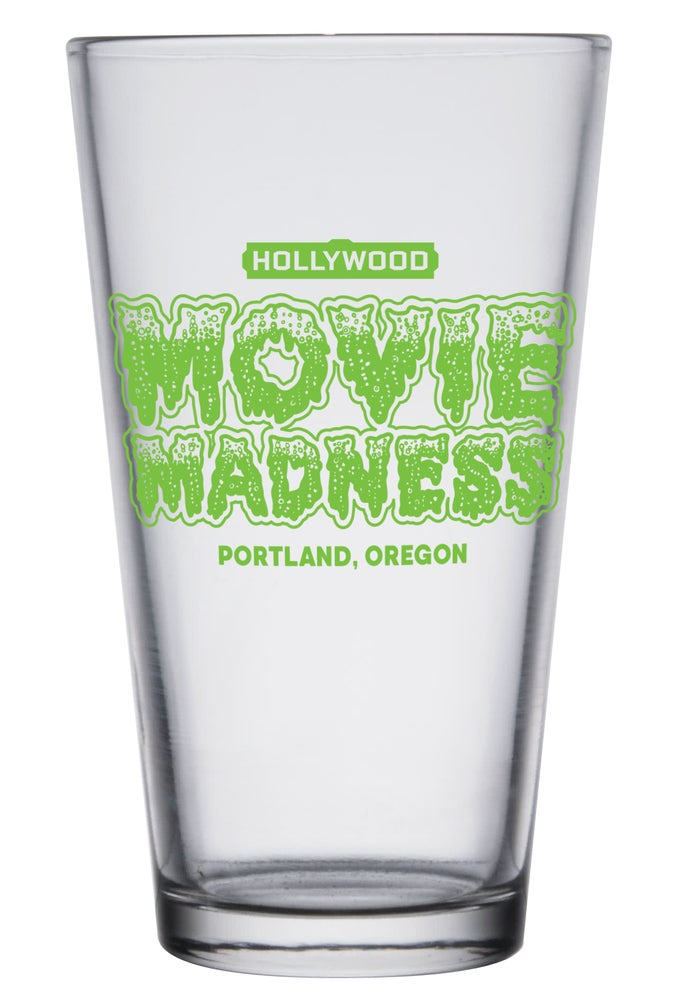 Image of Movie Madness Pint Glass