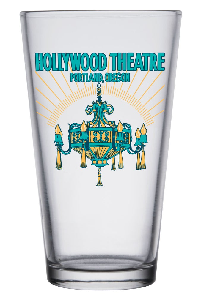 Image of Hollywood Theatre Chandelier Pint Glass