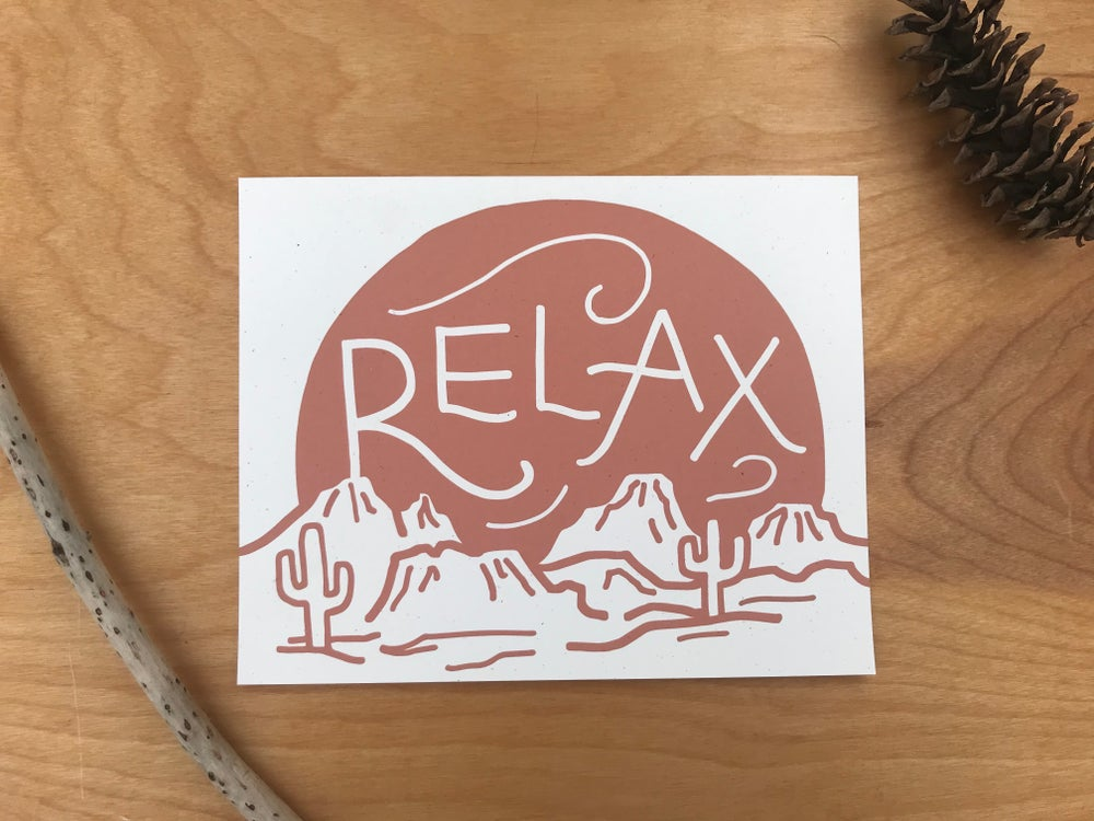 Image of Relax Archival Print
