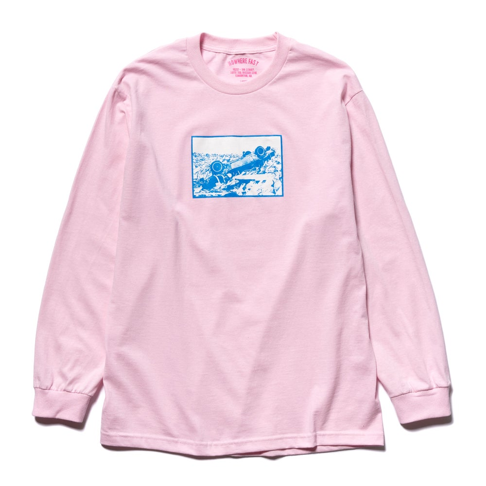 Image of Black Friday Long Sleeve T, Pink.