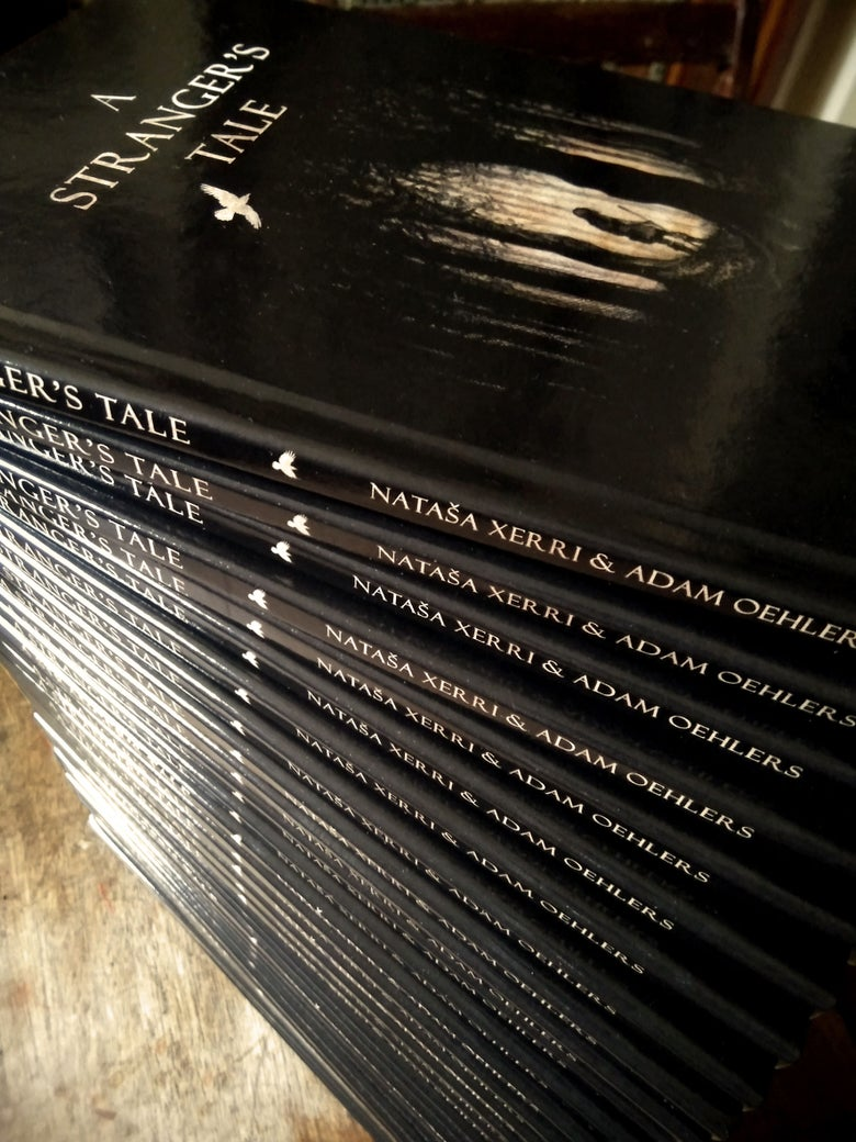 Image of 'A Stranger's Tale' signed copies by Adam Oehlers