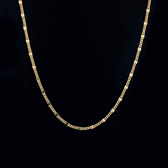 Image of CIELO NECKLACE / 24k GOLD-COATED SILVER