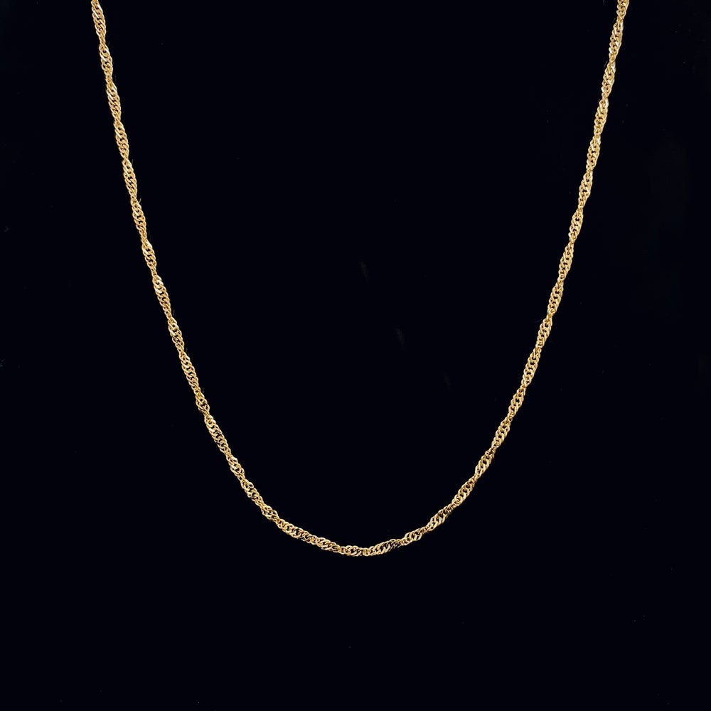 Image of PAOLA NECKLACE / 24k Gold-coated silver