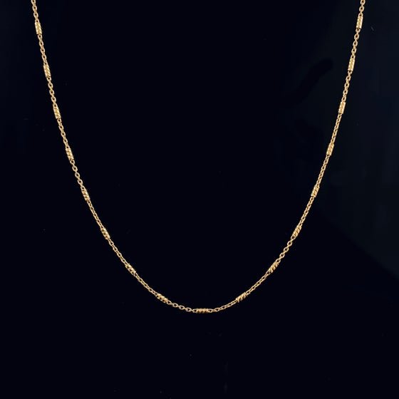 Image of VIENNA NECKLACE / 24k Gold-coated silver