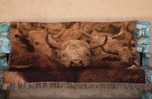 Image of Headed Out Tapestry Throw Blanket