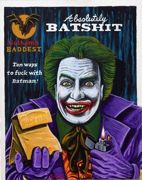 "Image of ""Absolutely Batshit"" signed Giclee Print"
