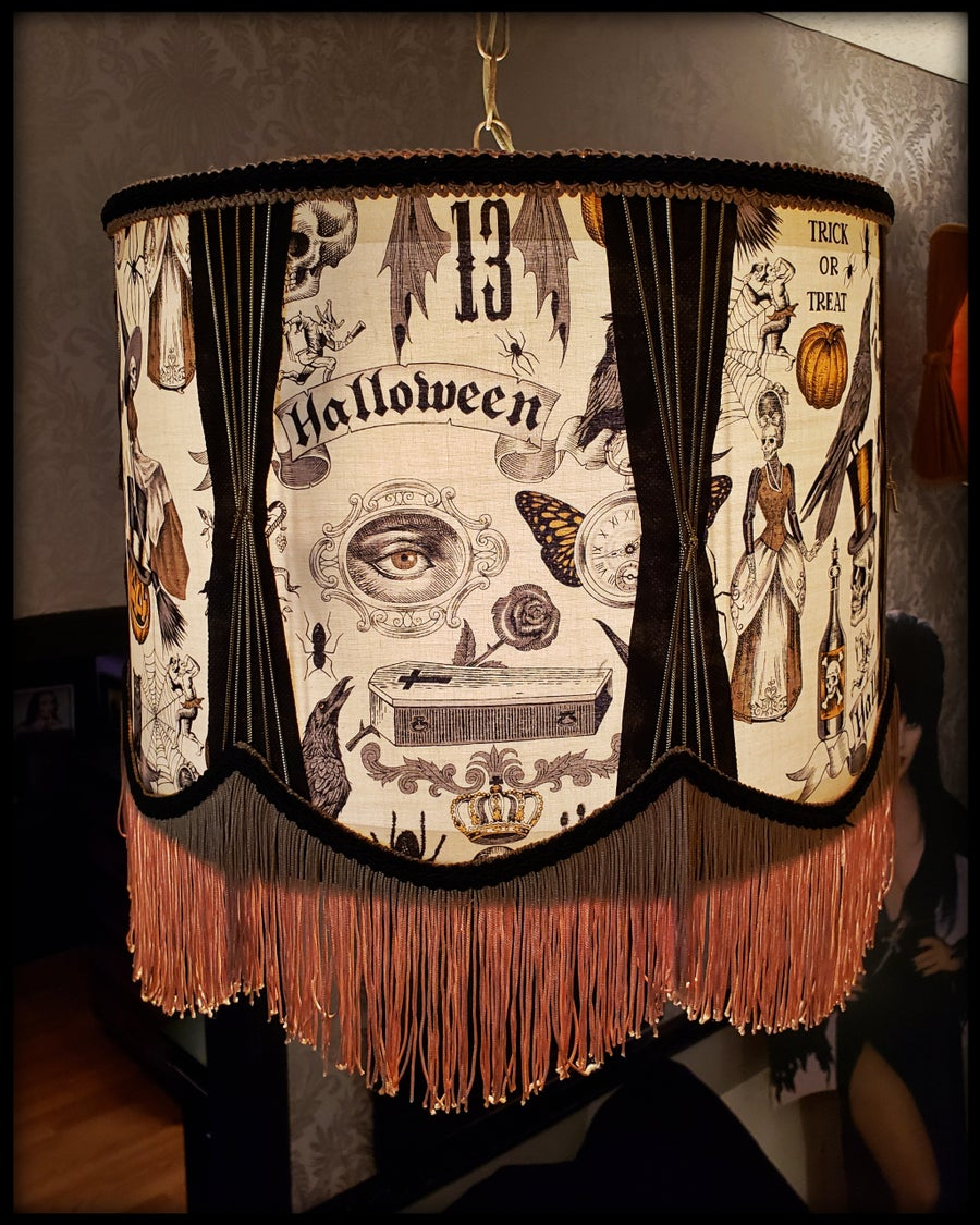 Image of Halloween Swag Lamp