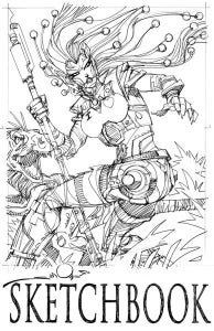 Image of Sketchbook 2009.02 by Walt Simonson