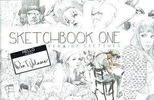 Image of Sketchbook One: Pen and Ink Sketches by Ron Velasco