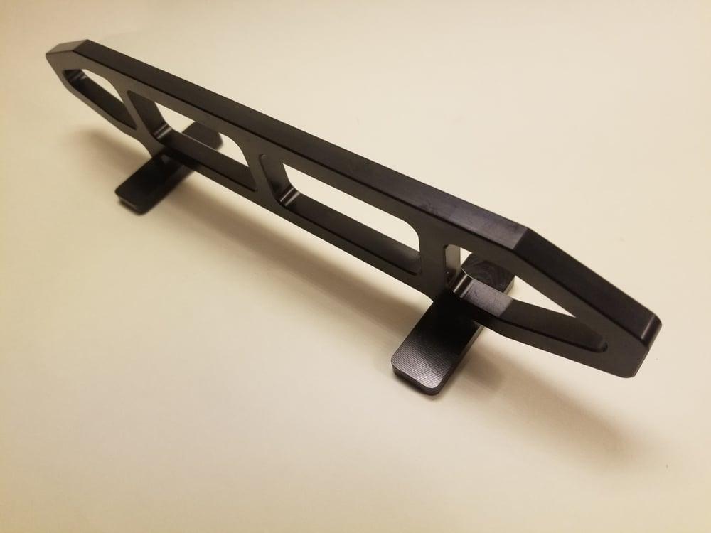 Image of Airflo Jet Black CNC machined rail