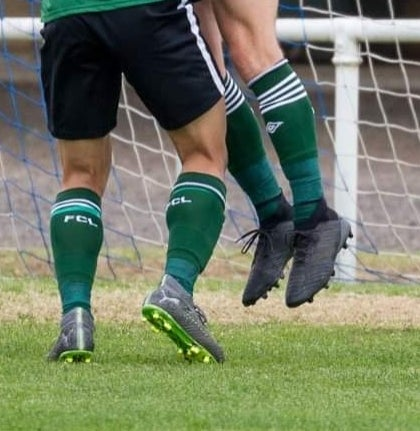 Image of FCL playing socks