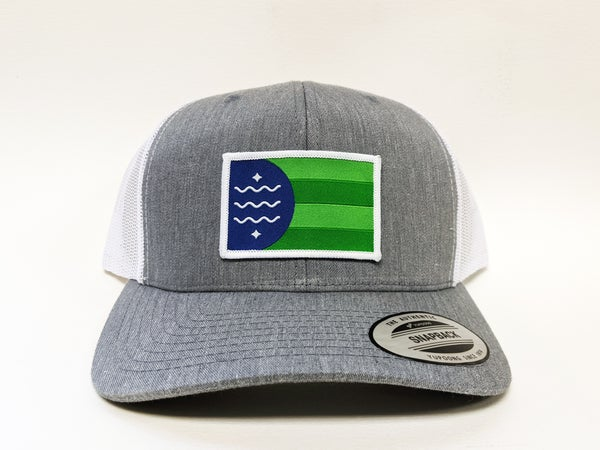Image of Bellingham Flag Retro Trucker Cap