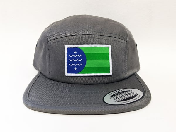 Image of Bellingham Flag 5-Panel Hat
