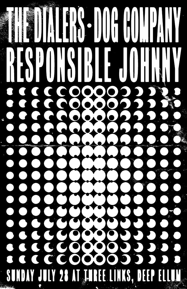 The Dialers, Dog Company, Responsible Johnny 2019