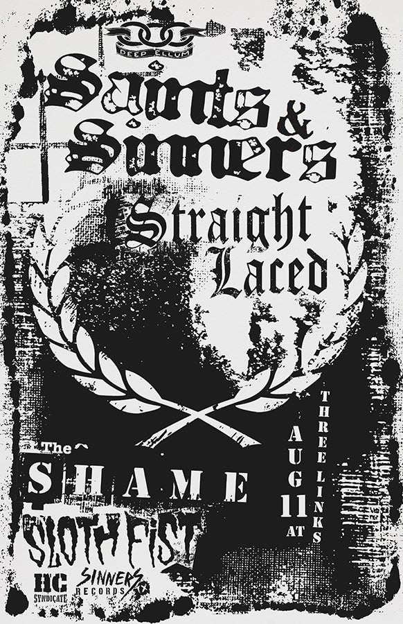 Saints & Sinners, Straight Laced 2019