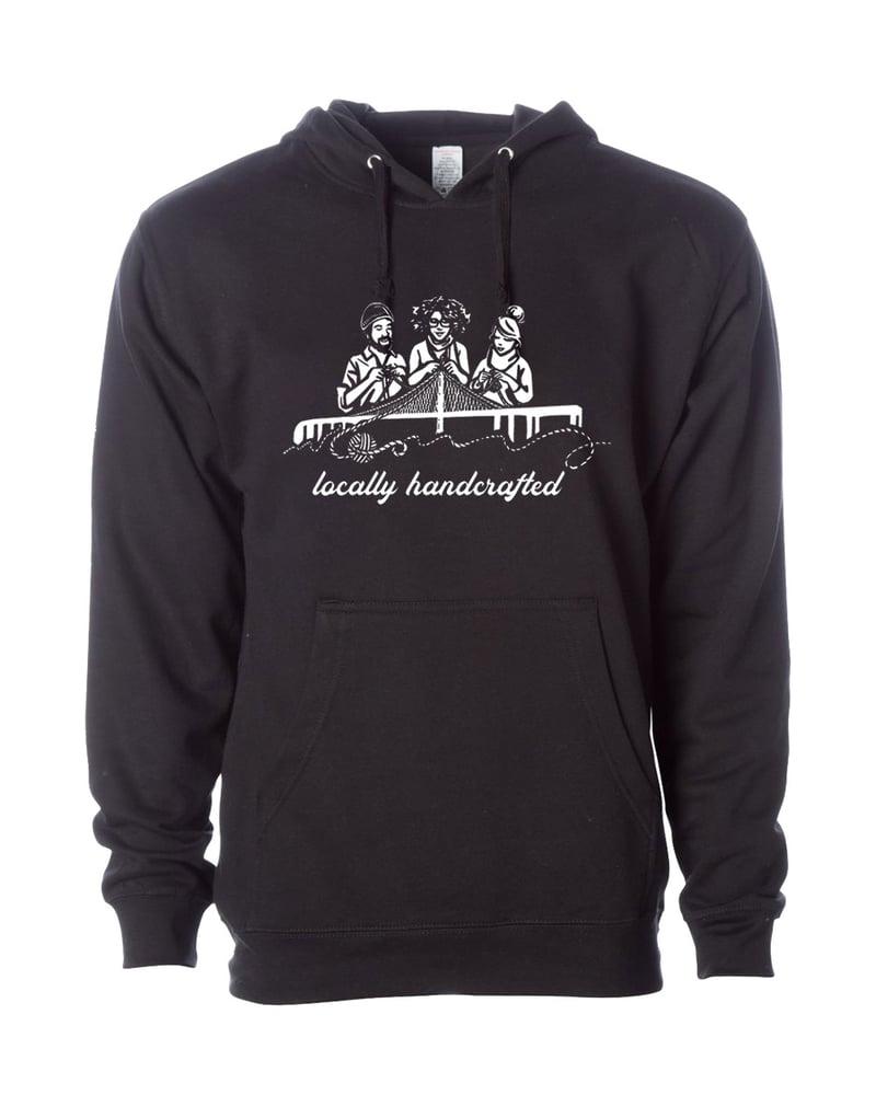 Image of PRE ORDER Locally Handmade UNISEX  Hooded Sweatshirt