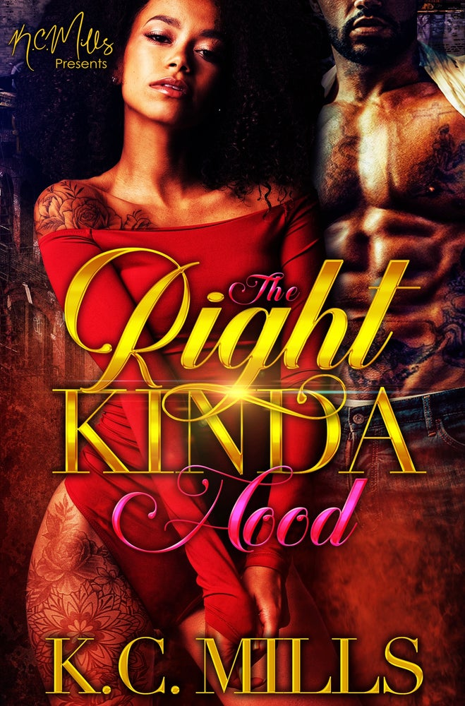 Image of The Right Kinda Hood Book 1 & 2 Combined Autographed Copy 508 pages (Ships 5-7 business days)